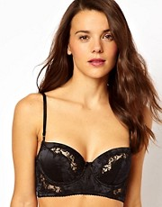 Elle Macpherson Intimates Exotic Garden Balconette Longline Bra