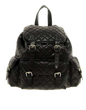 Image 1 ofASOS Quilted Backpack