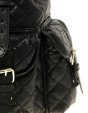 Image 4 ofASOS Quilted Backpack