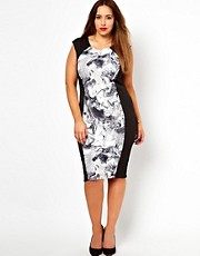 New Look Inspire Illusion Midi Dress