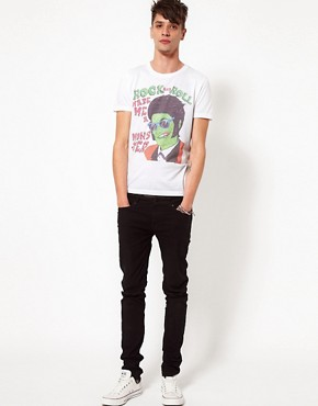 Image 4 ofASOS T-Shirt With Monster Print