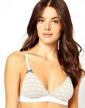 House Of Holland Devore Soft Triangle Bra