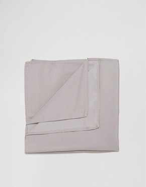 ASOS Wedding Pocket Square In Dark Pink
