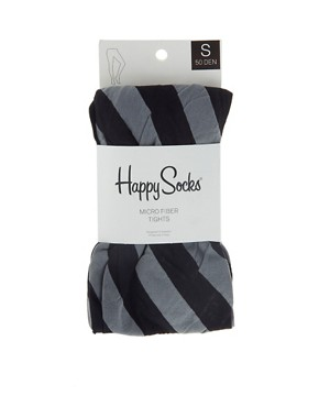 Image 3 ofHappy Socks Candy Stripe Tights