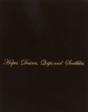 Image 3 ofTed Baker A5 &#39;Hopes &amp; Desires&#39; Notebook
