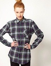American Apparel Flannel Long Sleeve Shirt
