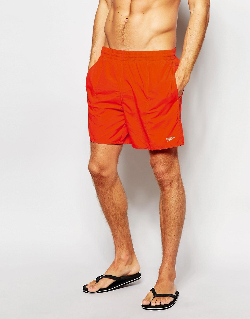 Speedo Solid Leisure 16 Inch Swim Shorts