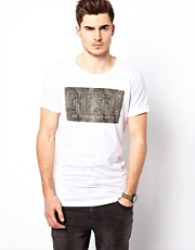 Diesel - T-Snake - T-shirt con logo