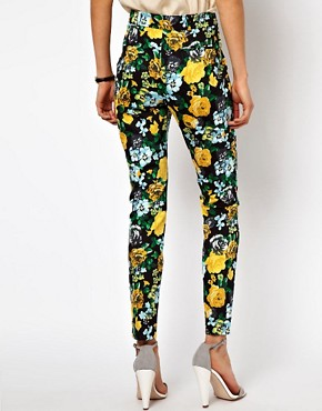 Image 2 ofASOS Trousers in Floral Print