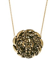 Yasmin By Gogo Philip Lion Head Necklace
