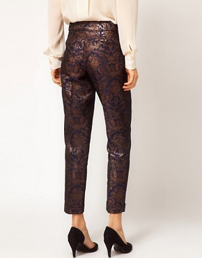Image 2 ofASOS Premium Baroque Trousers