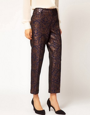 Image 4 ofASOS Premium Baroque Trousers