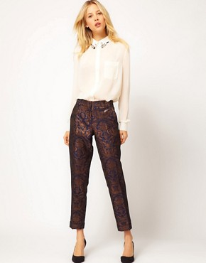 Image 1 ofASOS Premium Baroque Trousers