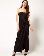 French Connection Draped Maxi Dress