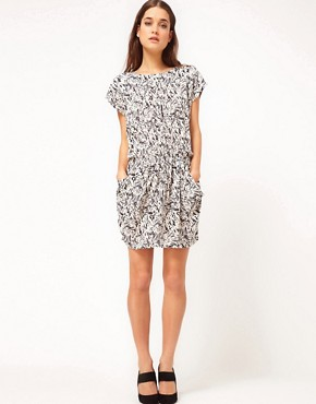 Image 4 ofSelected Mari Dress in Printed Viscose