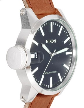 Image 4 ofNixon Chronicle Leather Watch