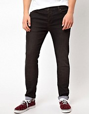 ASOS Skinny Jeans With Black Coating