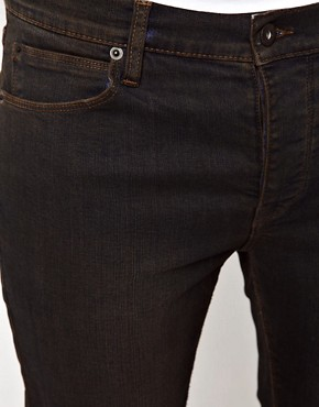 Image 4 ofASOS Skinny Jeans With Black Coating
