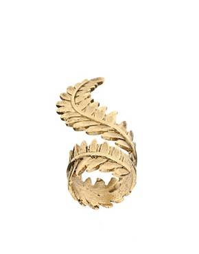 Image 1 of ASOS Extra Long Wrapped Vine Ring