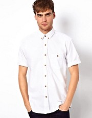 Selected Short Sleeve Oxford