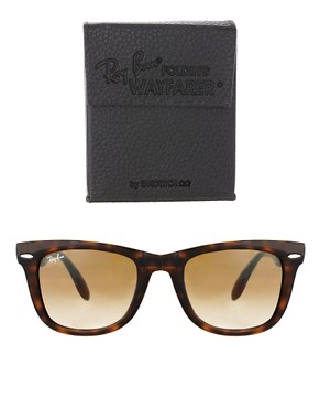 Image 2 ofRay-Ban Folding Wayfarer Sunglasses