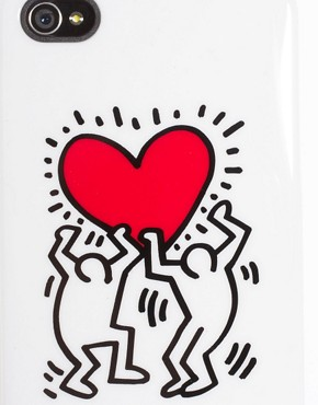 Image 3 ofCase Scenario Keith Haring iPhone 4 Case