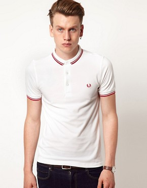 Image 1 ofFred Perry Slim Fit Small Collar Polo EXCLUSIVE TO ASOS