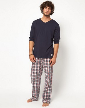 Image 4 ofEsprit Woven Lounge Pants