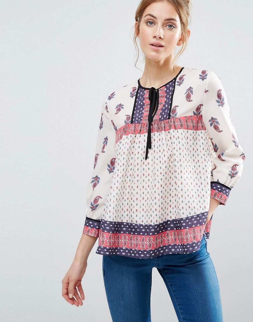 the-english-factory-paisley-blouse-with-boarder-binding-multi