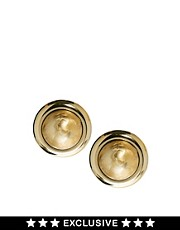Susan Caplan Exclusive For ASOS Vintage &#39;80s Sphere Stud Earrings