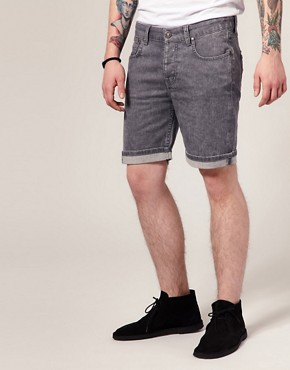 Image 1 ofEleven Paris Spike 06 Denim Shorts