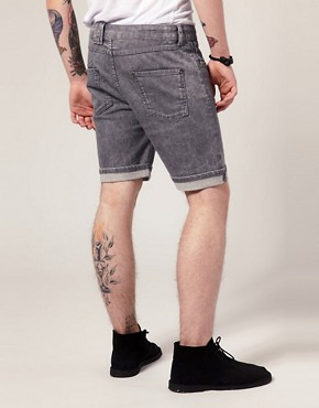 Image 2 ofEleven Paris Spike 06 Denim Shorts