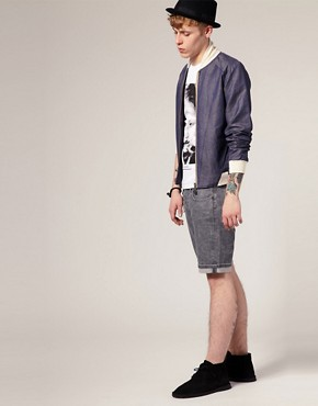 Image 4 ofEleven Paris Spike 06 Denim Shorts