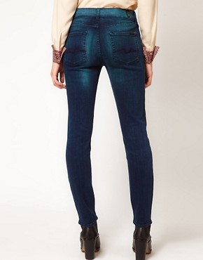 Image 2 of7 For All Mankind Skinny Jeans