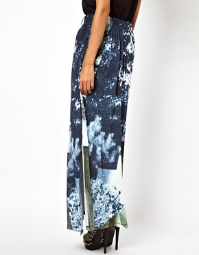 Image 2 ofDiesel Printed Maxi Skirt