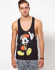 ASOS Vest With Mickey Mouse Print