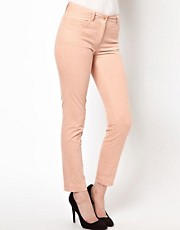 Sessun Cord Skinny Jeans in Powder Pink
