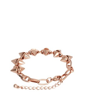 Image 2 ofASOS Double Spike Bracelet