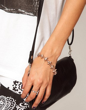 Image 3 ofASOS Double Spike Bracelet