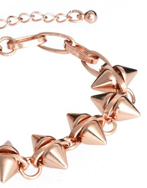 Image 4 ofASOS Double Spike Bracelet