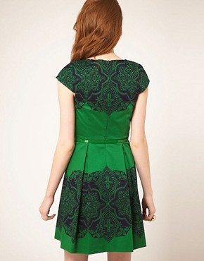 Image 2 ofOasis Placement Lace Dress