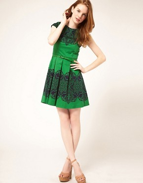 Image 4 ofOasis Placement Lace Dress