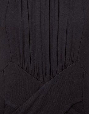 Image 3 ofDanielle Scutt Dress Jersey With Knot Detail