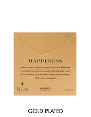 Dogeared Key To Happiness Necklace