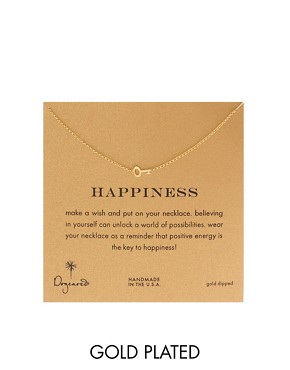 Image 1 ofDogeared Key To Happiness Necklace