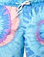 Image 3 ofASOS Swim Shorts With Tie Dye