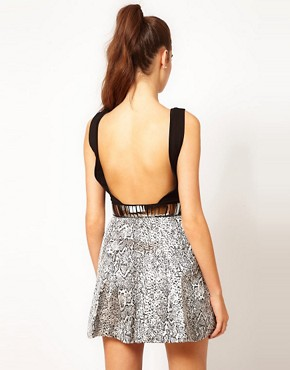 Image 2 ofHunt No More &#39;A Bright Tomorrow&#39; Embellished Belt Dress