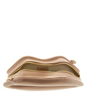 Image 2 ofALDO Chevez Lips Patent Clutch Bag