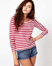 Vero Moda Textured Stripe Sweater