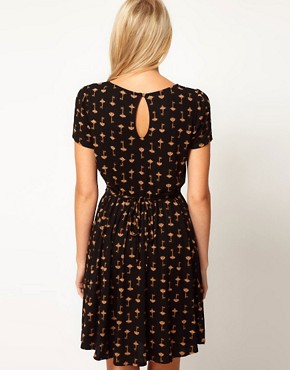 Image 2 ofOasis Key Print Dress